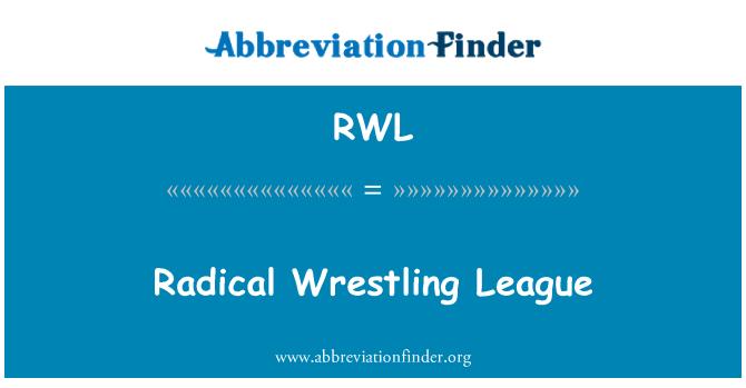 RWL: Radical Wrestling League
