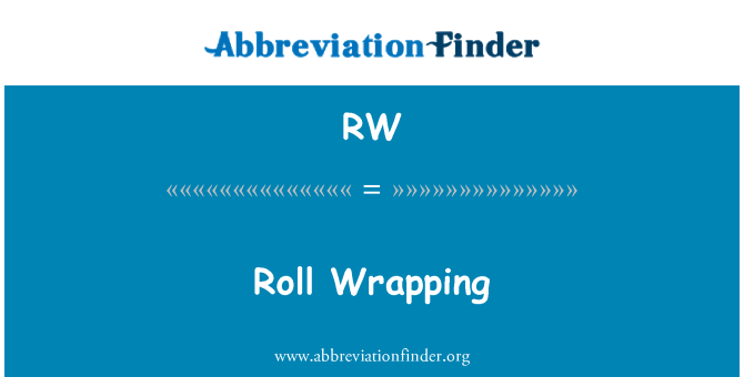 RW: Roll Wrapping