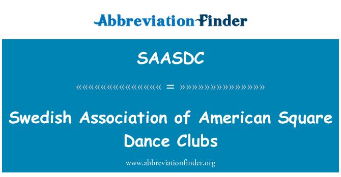 SAASDC: Swedish Association of American Square Dance Clubs