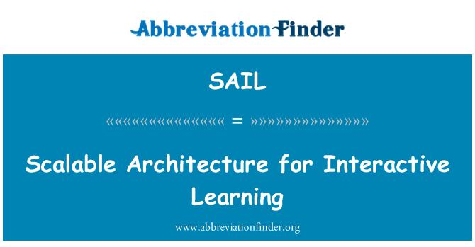 SAIL: Arquitectura escalable para aprendizaje interactivo