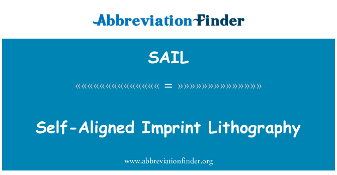 SAIL: Litografía de impresión Tecnology