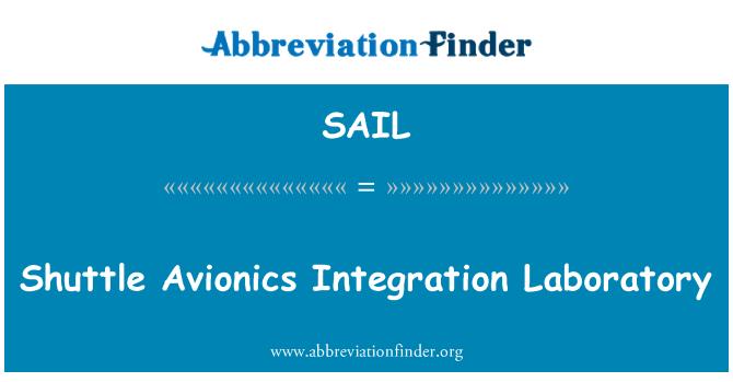 SAIL: Laboratorio de integración de aviónica Shuttle