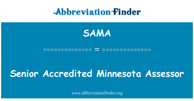SAMA: Asesor Senior de Minnesota acreditados