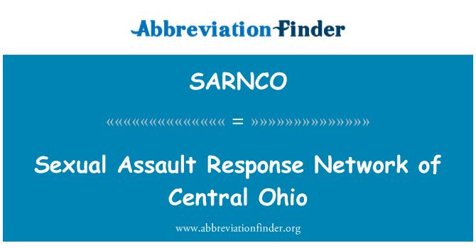 SARNCO: Sexual Assault Response Network of Central Ohio
