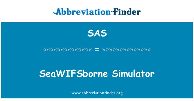 SAS: SeaWIFSborne Simulator
