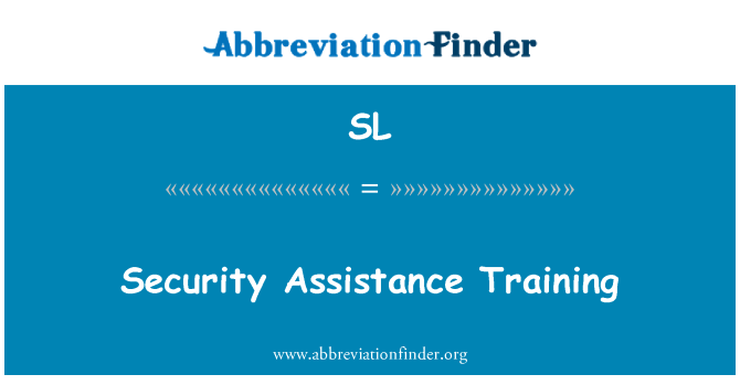 SL: 安全援助培训