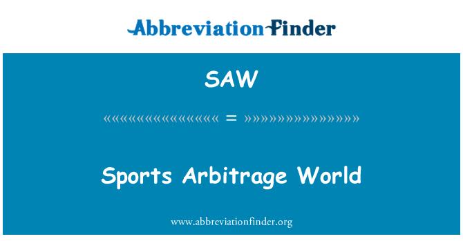 SAW: Sports Arbitrage World