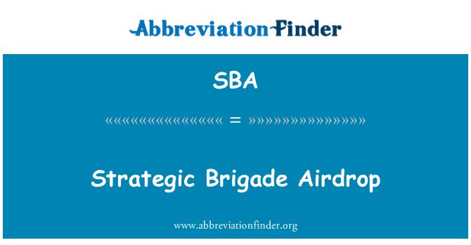SBA: Strategic Brigade Airdrop