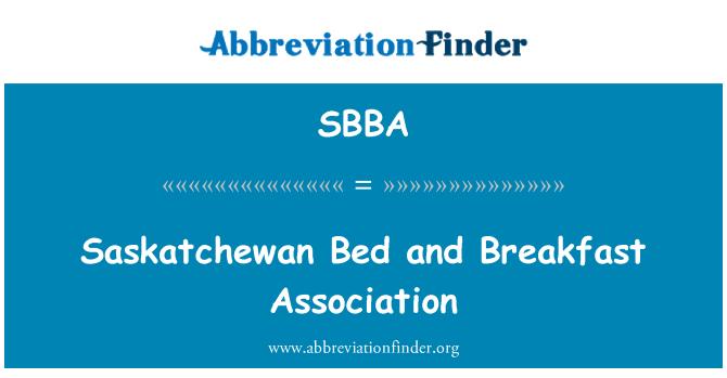 SBBA: Saskatchewan Bed and Breakfast Association