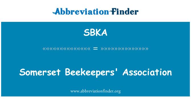 SBKA: Somerset Beekeepers' Association