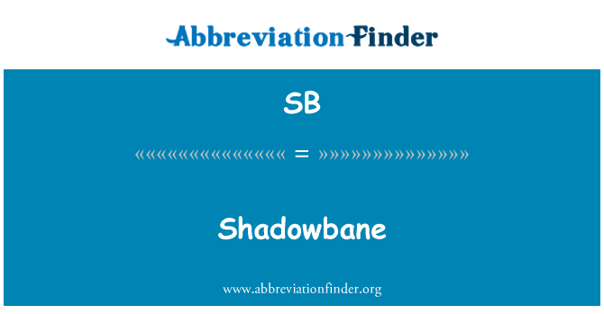 SB: Shadowbane