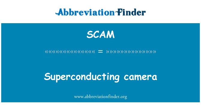 SCAM: Superconducting camera