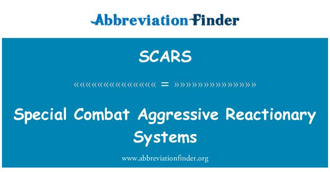 SCARS: Özel savaş agresif gerici sistemleri