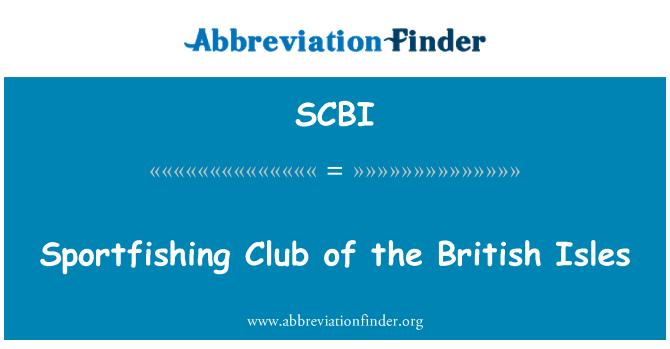 SCBI: Briti saarte Sportfishing klubi