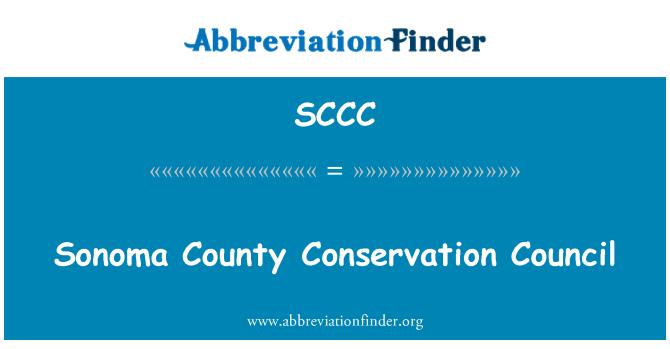 SCCC: Sonoma County Conservation Council