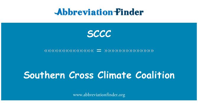 SCCC: Cruz del sur Climate Coalition