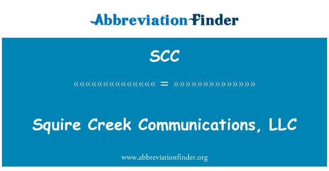 SCC: Squire Creek Communications, LLC