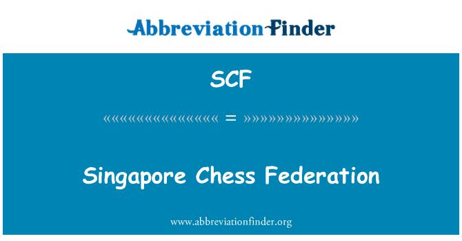 SCF: Singapore Chess Federation