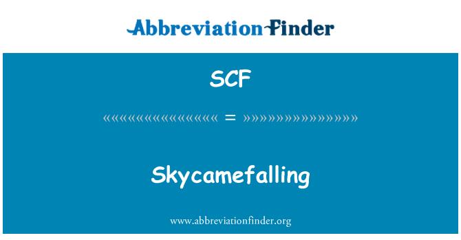 SCF: Skycamefalling
