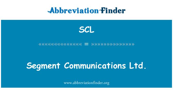 SCL: Segment Communications Ltd.