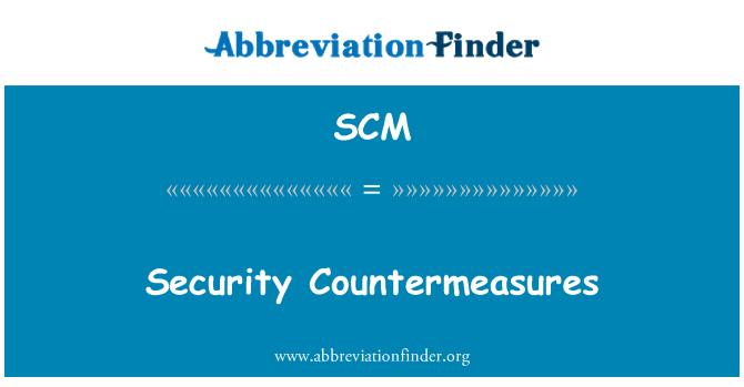 SCM: Security Countermeasures