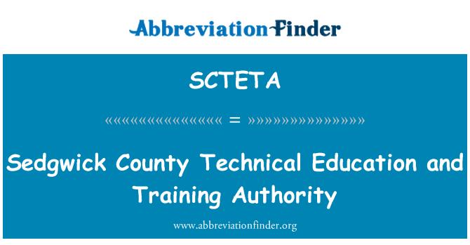 SCTETA: Sedgwick County Technical Education and Training Authority