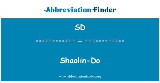SD: Shaolin-Do