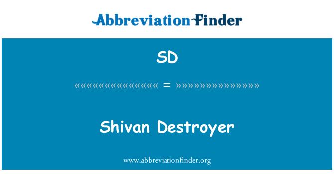 SD: Shivan Destroyer