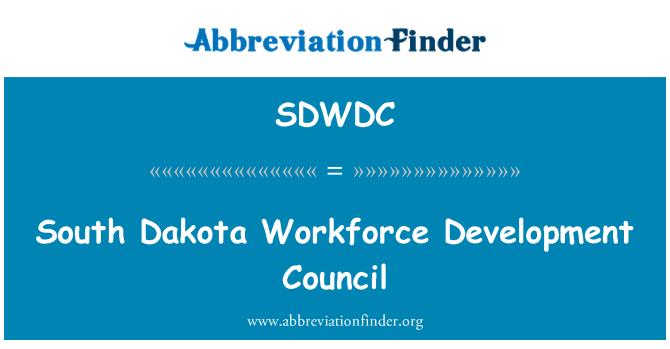 SDWDC: South Dakota Workforce Development Council
