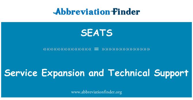 SEATS: Expansión de servicio y soporte técnico
