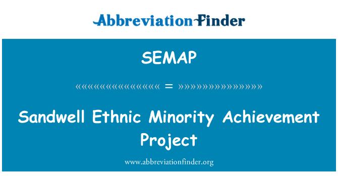 SEMAP: Sandwell Ethnic Minority Achievement Project