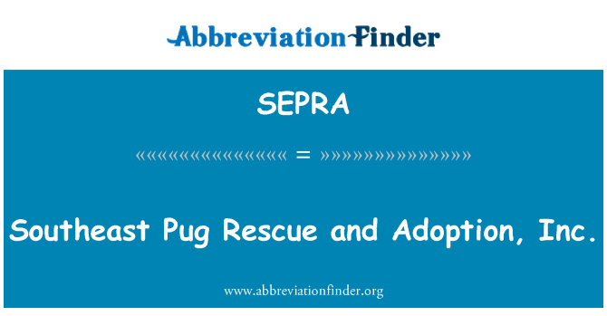 SEPRA: Southeast mops Päästeameti ja vastuvõtmine, Inc
