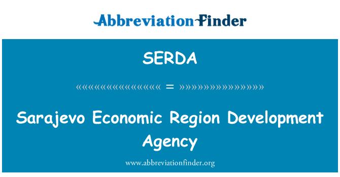 SERDA: Sarajevo Economic Region Development Agency