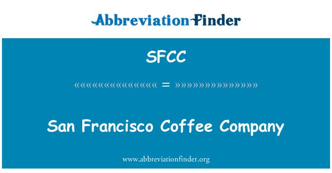 SFCC: San Francisco Coffee Company