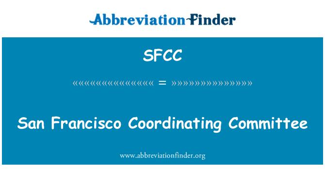 SFCC: Comité de coordinación de San Francisco