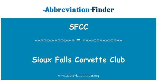 SFCC: Sioux Falls Corvette Club
