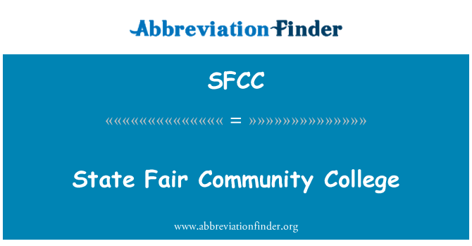 SFCC: Feria Estatal Community College