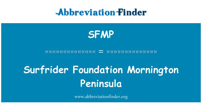 SFMP: Surfrider Foundation Mornington Peninsula