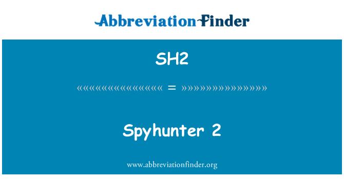 SH2: Spyhunter 2