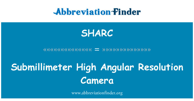 SHARC: Submillimeter High Angular Resolution Camera