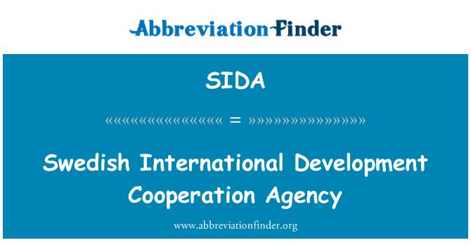 SIDA: Švedska Međunarodna razvojna suradnja agencija