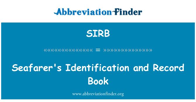 SIRB: Identificación y registro de marino