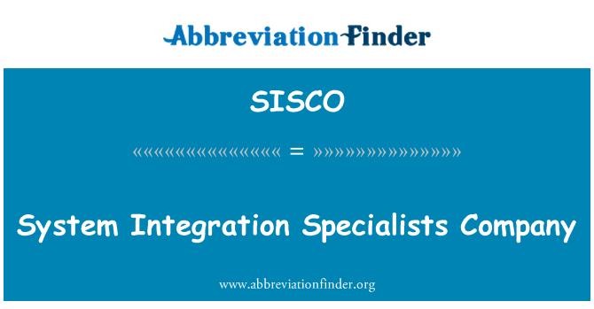 SISCO: Empresa especialistas en integración de sistema