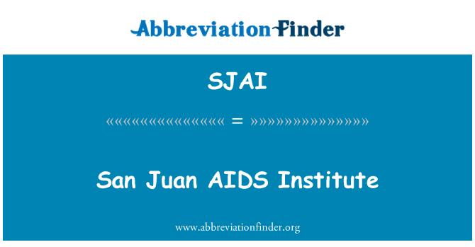 SJAI: San Juan AIDS Institute