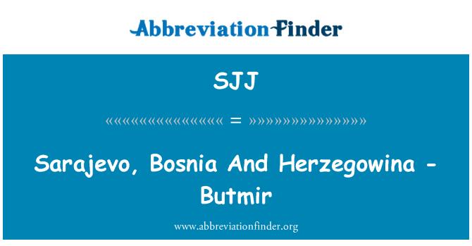 SJJ: Sarajevo, Bosnia And Herzegowina - Butmir