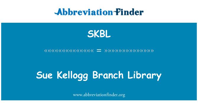 SKBL: Sue Kellogg Branch Library