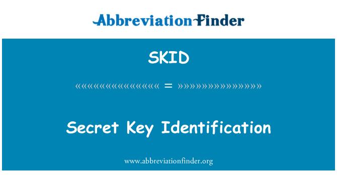 SKID: Identificación de clave secreta