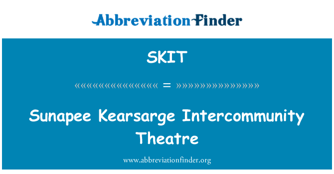 SKIT: Sunapee Kearsarge Intercommunity teatro