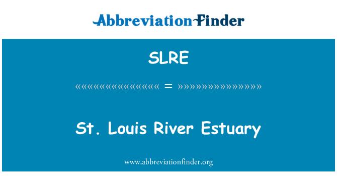 SLRE: Estuario del río St. Louis