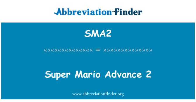 SMA2: Super Mario Advance 2
